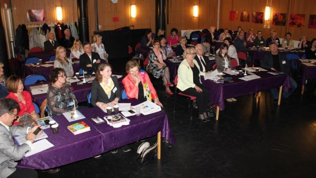 Konferencja w Studiefämjandet publika
